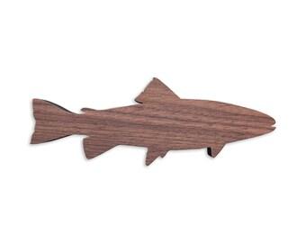 Fish cutting board etsy for Fish cutting board