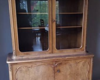 Lovely Authentic Antique French China Cabinet