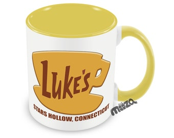 Luke's Diner Mug FREE Matching Coaster - Inspired by Gilmore Girls Fan  Stars Hollow Connecticut Funny Mug best friend gift stocking stuffer
