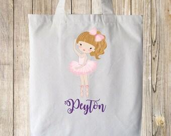 Adorable Ballerina Tote bag ~ Customize ~ Personalize