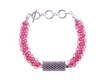 Rouge Red Bubble Belle Bracelets