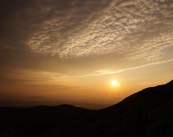 Landscape Photography - Mt. Monadnock, NH - Sunrise