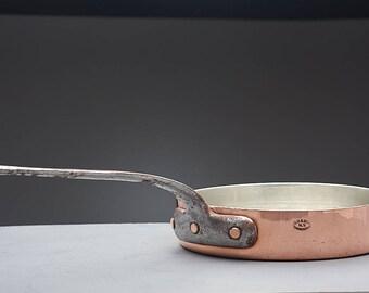 Antique Duparquet Copper Saute 11 1/4 Inch