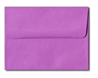 20 Bright Violet Purple Envelopes in A7, A6, A2 & A1 Sizes