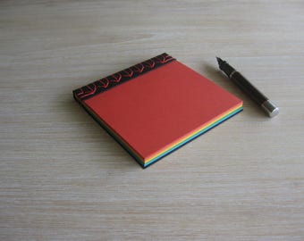 Hand Bound Notebook / Stab Bound Notepad