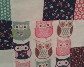 Handmade Owl Bedding Etsy