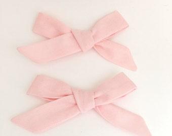 Ballerina pink school girl bow