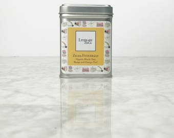 Zelda Fitzgerald Tea - Loose Leaf Tea.. The perfect Literary gift, Mothers Day Gift for Tea Lover,Book Lover or Bibliophile! Organic Chai