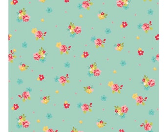 1 Yard Hello Gorgeous by My Minds Eye For Riley Blake Designs - 5692 Mint