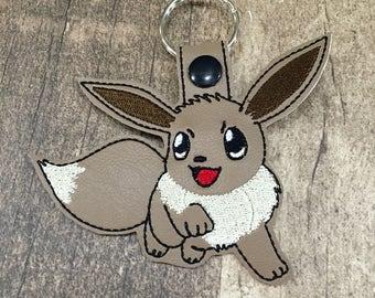 Pokemon EVEE Key Chain Snap Tab