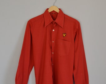 Red long sleeved shirt