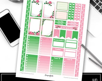 Pinkies Printable Planner Stickers for the Classic MAMBI Happy Planner