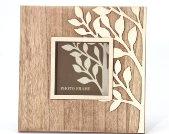 Natural Wooden Tree Photo Frame - 12658