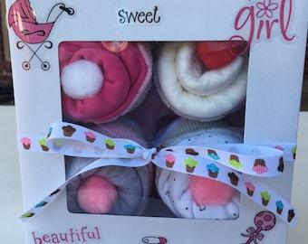 Baby Onsie Cupcakes- Cupcake Onsies- Baby Shower Gift- Mommy to be Gift- Onsie Cupcakes