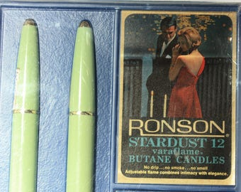 Ronson Stardust Varaflame Butane Candles, Home Decor, Romantic Table Decoration