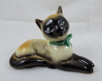 Goebel Porcelain Siamese Cat Figurine CK 33 A West Germany