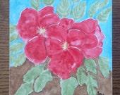 Watercolor Flowers,Floral...
