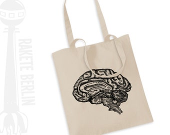 Tote Bag   ''anatomical brain'