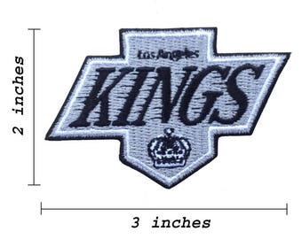 Los Angeles Kings Logo Embroidered Iron On Patches