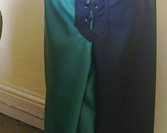 Men's Medieval pants, drawstring or elastic waist, also available in black and brown