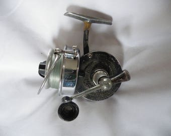 Vintage Classic Fishing Reel, Bache Brown, Model 3, Mastereel Lionel Co, Retro Fishing Tackle, Spinning Reel