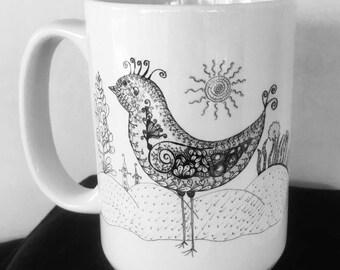 Chicadee mug