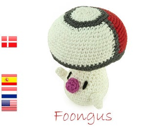 Crochet pattern Foongus (Pokemon)