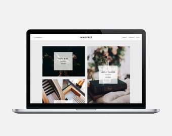 INNISFREE - Responsive Blogger Template - Sticky Scrolling Sidebar, Grid Masonry Blogger Template