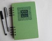 prayer journal, antique hymnal prayer journal, bible study journal, prayer junk journal - antique prayer journal journal