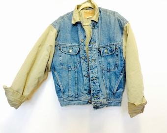 Xl denim jacket | Etsy