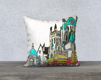 The oratory Montreal pillow cover - Pillow Case from the picture was taken in church