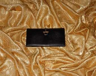 Genuine vintage wallet - lizard and genuine leather