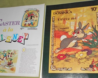 Easter a la Disney - 1991 Collector Magazine Article  Disney Characters