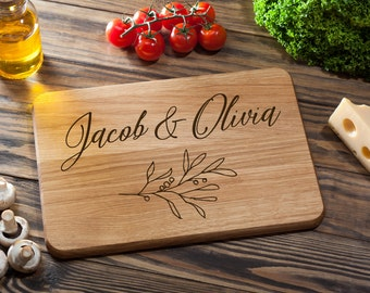 Custom Cutting Board Cutting Board Wood Cutting Board Custom Wedding Gift Anniversary Gift Personalized Housewarming Gift Chopping Board