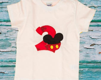 Mickey  Mouse birthday shirt, Mickey shirt, Mickey Disney shirt,  Mickey applique, Disney shirt,  Dress,Disney, Disney trip