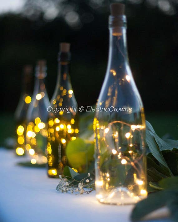 Wine Bottle Centerpieces For Weddings Decor