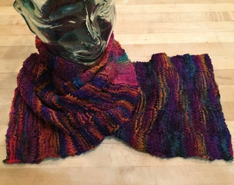 Basketweave Scarf, #041