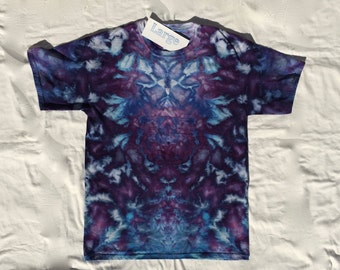 Large T-shirt Purple Ice Shatter #LT1121