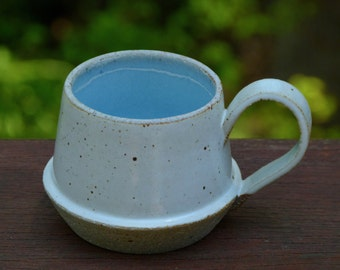 Stoneware ceramic coffee mug