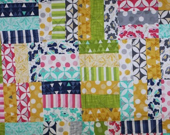 Color Theory Lap /  Baby Quilt