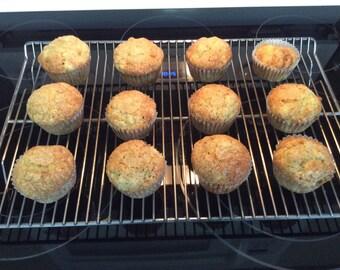 Sour Cream Cornbread Muffins (Dozen)