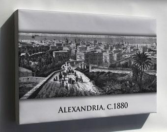 Canvas 24x36; Alexandria 1880