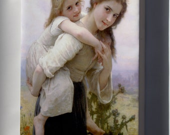 Canvas 16x24; Not Too Much To Carry William-Adolphe Bouguereau (1825-1905) - Not Too Much To Carry (1895