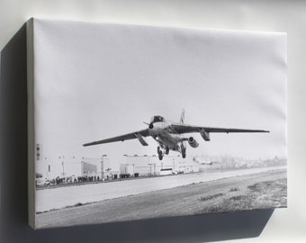 Canvas 16x24; First Flight Of The Northrop X-21A, Apri 18, 1963