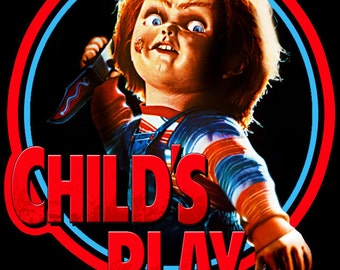 Child's Play Chucky Vintage Image T-shirt