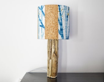Model nature 2, Liège and Driftwood lamp
