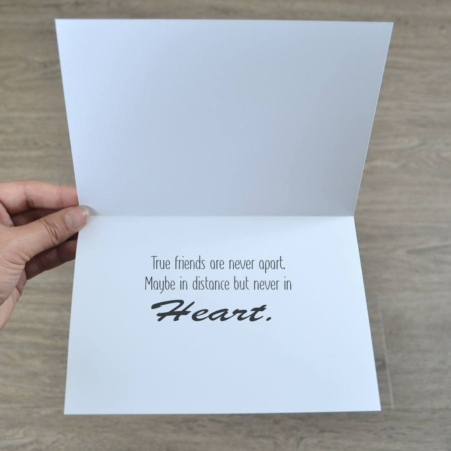 friendship card for any occasion best friends card long