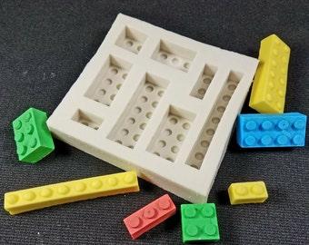 Building Block Lego Silicone Mold By Sugar Delites MOL202