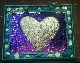 Sequin Mermaid Message Board