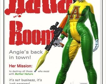 Bada Boom - illustration, android, future